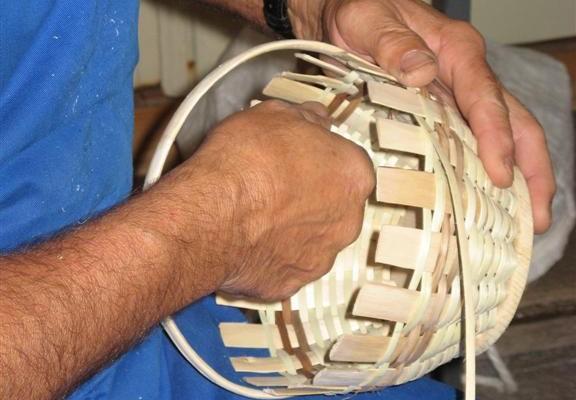 Delavnica pletenja košar