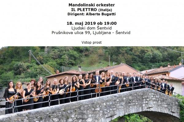 Vabilo Il Plettro maj 2019